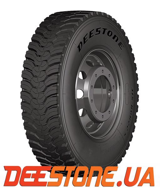 Шина 315/80 R22.5 DEESTONE SD437 156/150K Таиланд ведущая тяга карьерная