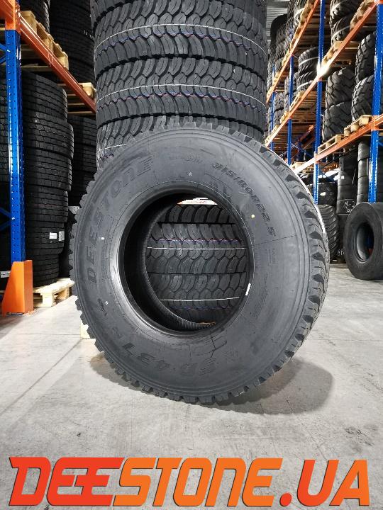 Шина 315/80R22.5 DEESTONE SD437 156/150K (Таиланд) ведущая / тяга карьерная