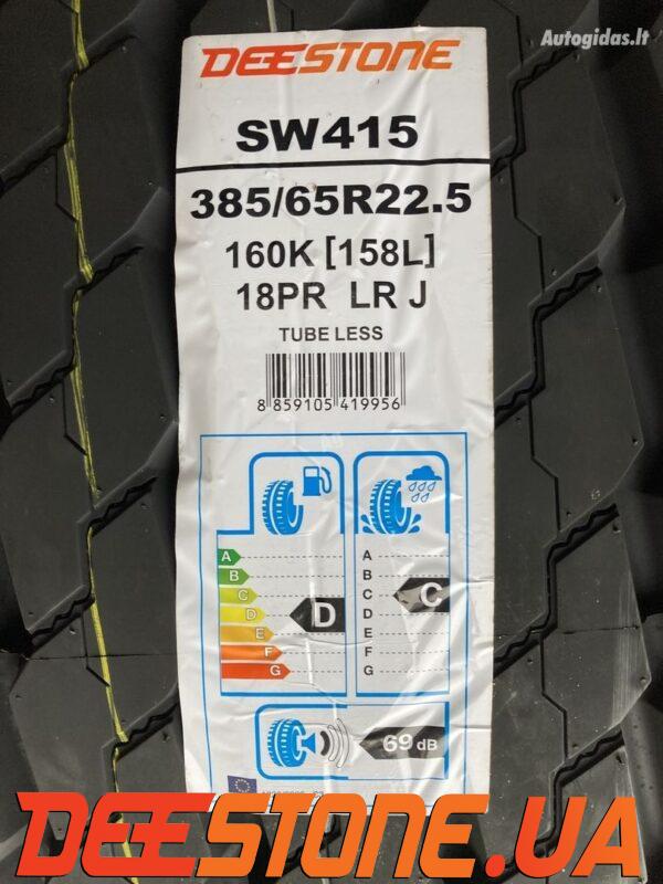 Шина 385/55 R22.5 DEESTONE SW 415 164K 18PR прицепная полуприцеп