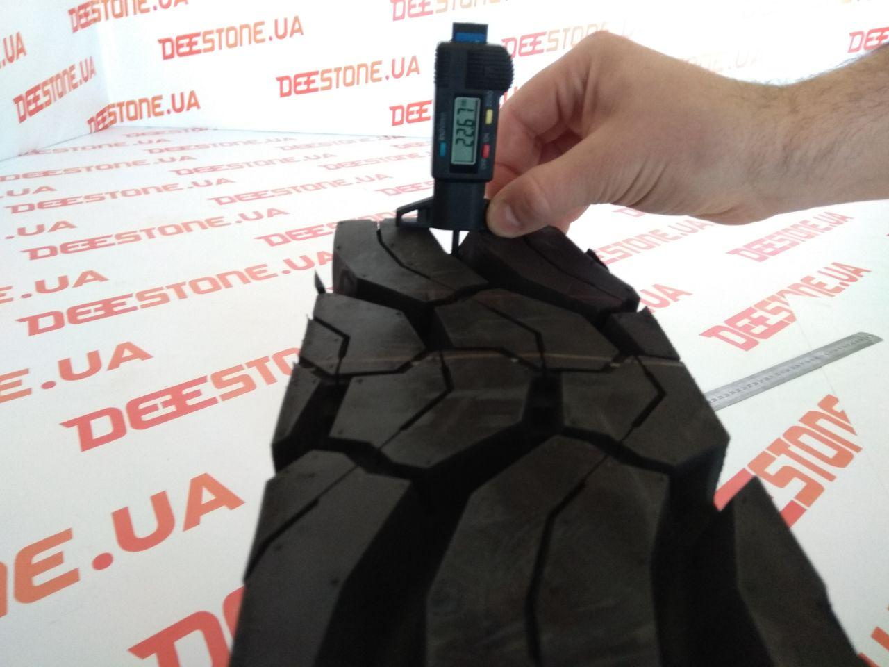 Глубина протектора шины 315/80 R22.5 Deestone SD437