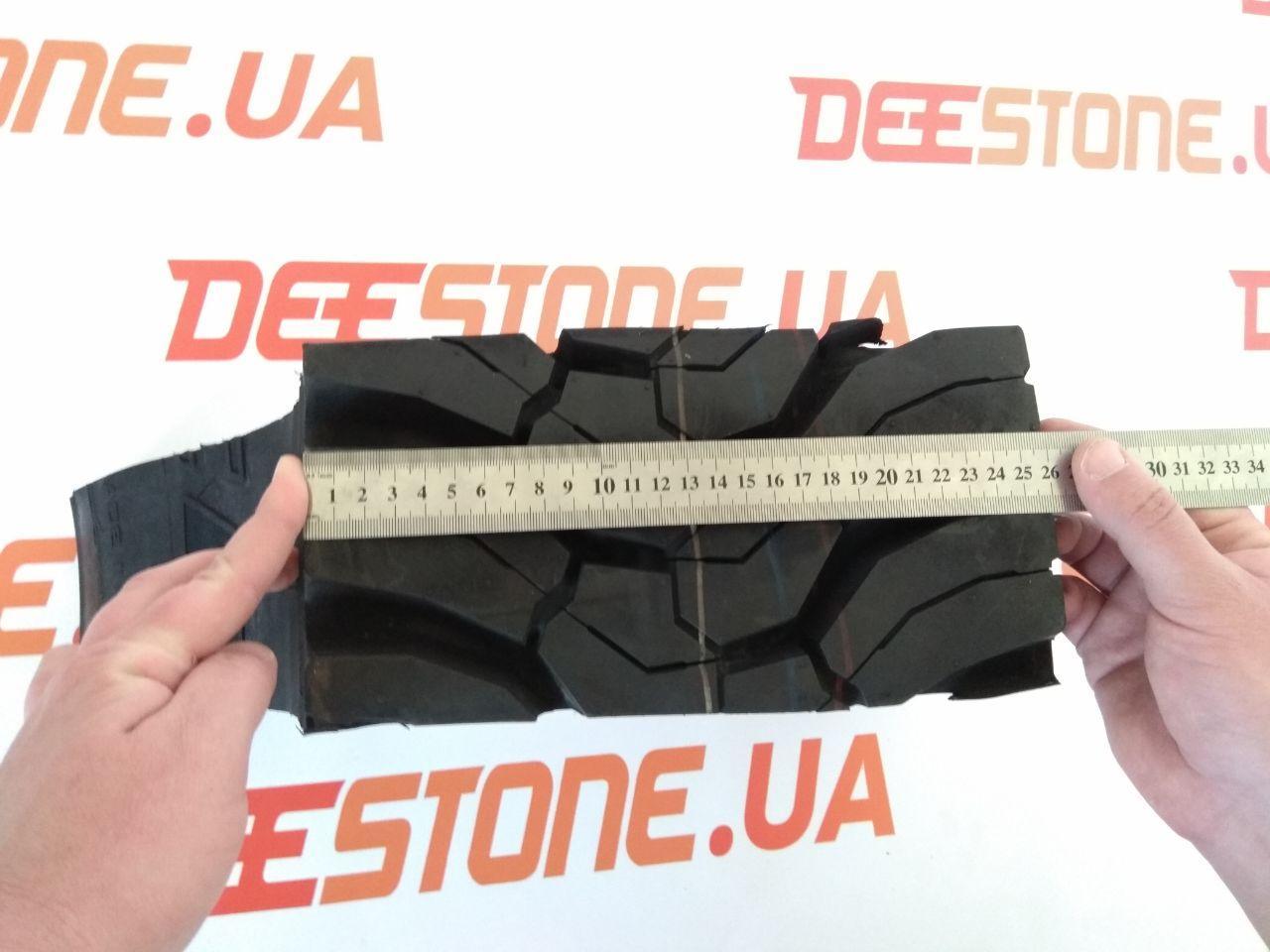 Ширина протектора шины 315/80 R22.5 Deestone SD437